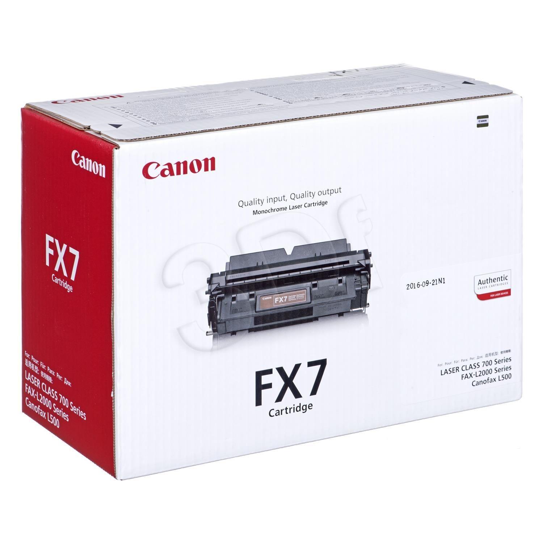 Canon Toner czarny FX-7BK=FX7BK=7621A002 4500 str.