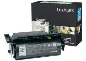Lexmark toner czarny (kaseta zwrotna, do aplikacji naklejkowych, T62x)