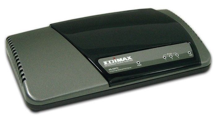 Edimax PS-3207U Print S 1xFE 2xUSB 2.0 +Parallel