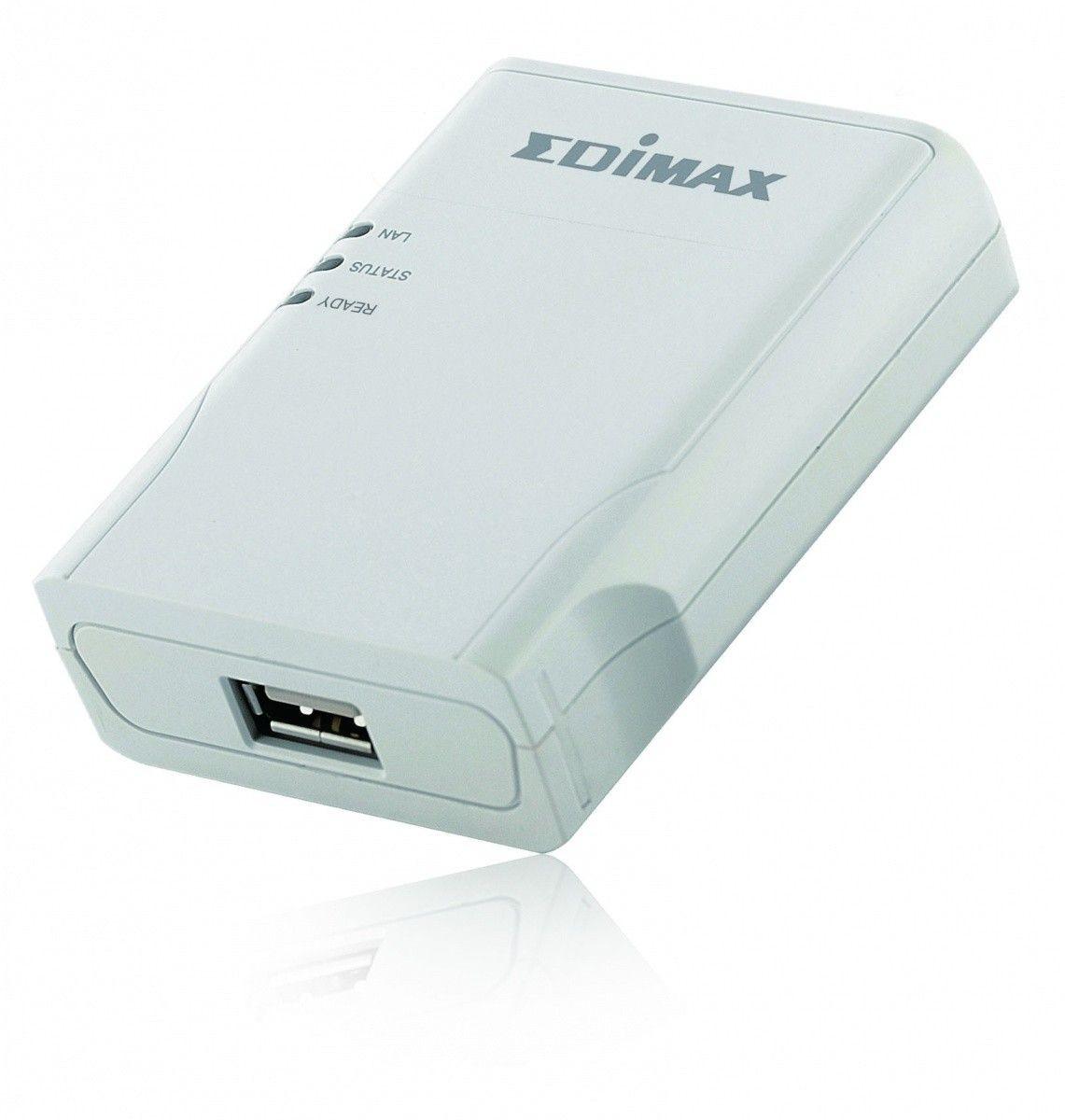 Edimax Print Server 1xUSB 2.0, 1x10/100Mbps