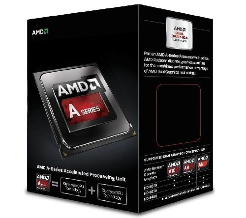 AMD Procesor APU A10 6800K BE 4100 MHz FM2 Box