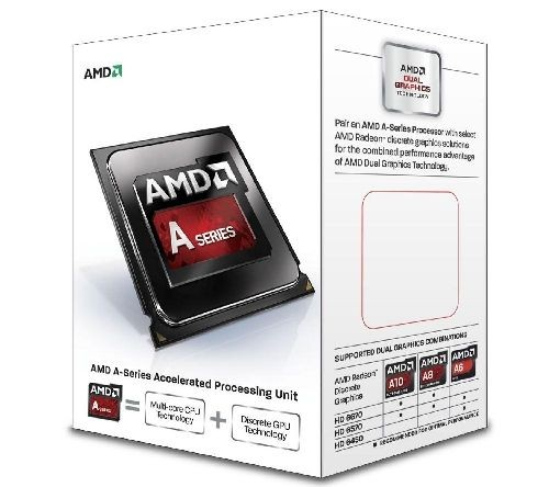 AMD APU A10-6700 3.7GHz BOX (FM2)