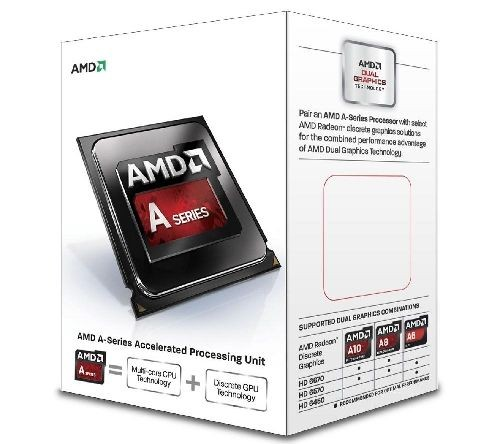 AMD APU A8 6500 FM2 4,1GHz AD6500OKHLBOX