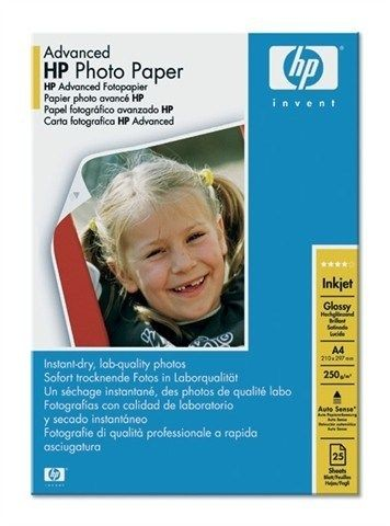 HP Advanced Glossy Photo (250g, A4, 25ark.)