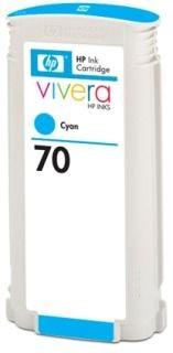 HP wkład atramentowy no 70 cyan Viviera (130ml)