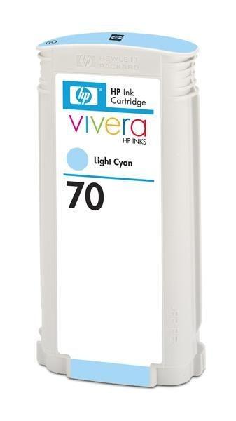 HP wkład atramentowy no 70 light cyan Viviera (130ml)