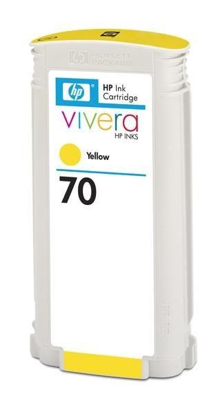 HP wkład atramentowy no 70 yellow Viviera (130ml)