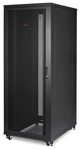 APC NetShelter SV 42U 800mm Wide x 1060mm Deep Enclosure with Sides Black