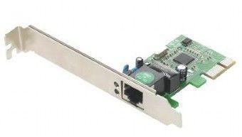 Gembird Karta sieciowa PCI-Expres 1-GIGABIT(RJ45)10/100/1000Mbps Realtek chipset