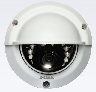 D-Link DCS-6314 Kamer IP Kopułkowa [zewnęrzna] [2 Mega-pixel] [PoE 802.3af] [H.264] [IR 15m] [slot microSD WDR Full HD]