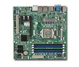 Supermicro UP, 2nd gen Core i7/i5/i3 processors, Q67 chipset, Micro ATX (9.6 x 9.6), Embe