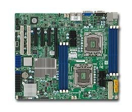 Supermicro DP, Xeon 5600/5500 processors, 5500 chipset, ATX (12 x 10), SAS2 via LSI 2008
