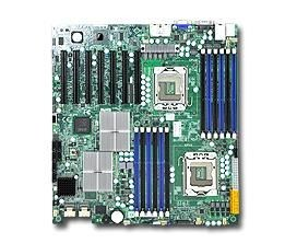 Supermicro DP, Xeon 5600/5500 processors, 5520 chipset, E-ATX (12 x 13)