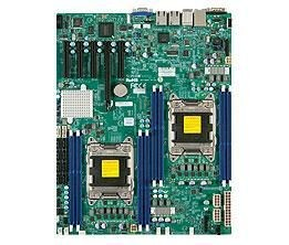 Supermicro DP, Xeon E5-2600 processors, C602 chipset, E-ATX (10.3 x 13), DCO (thermal opt