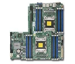 Supermicro DP, Xeon E5-2600 processors, C602 chipset, Proprietary WIO (12 x 13)