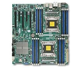 Supermicro DP, Xeon E5-2600 processors, C602 chipset, E-ATX (12 x 13), Workstation optimi