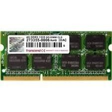 Transcend Apple Series 4GB DDR3 1333MHz CL9 SODIMM 2Rx8
