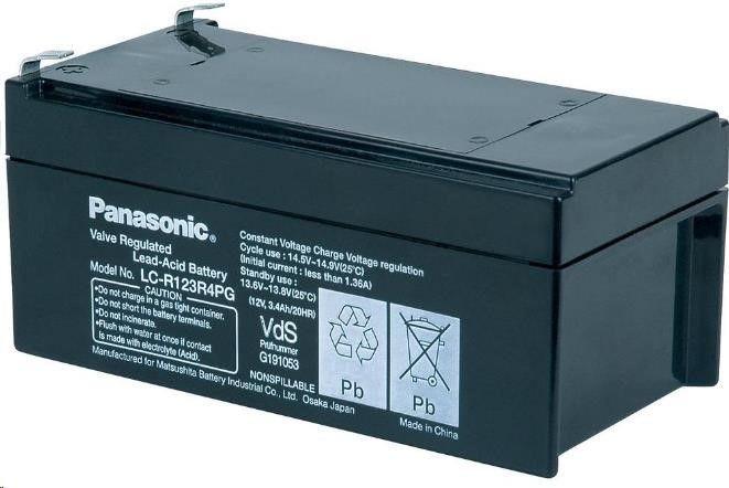 CyberPower Baterie - Panasonic LC-R123R4PG (12V/3,4Ah - Faston 187)