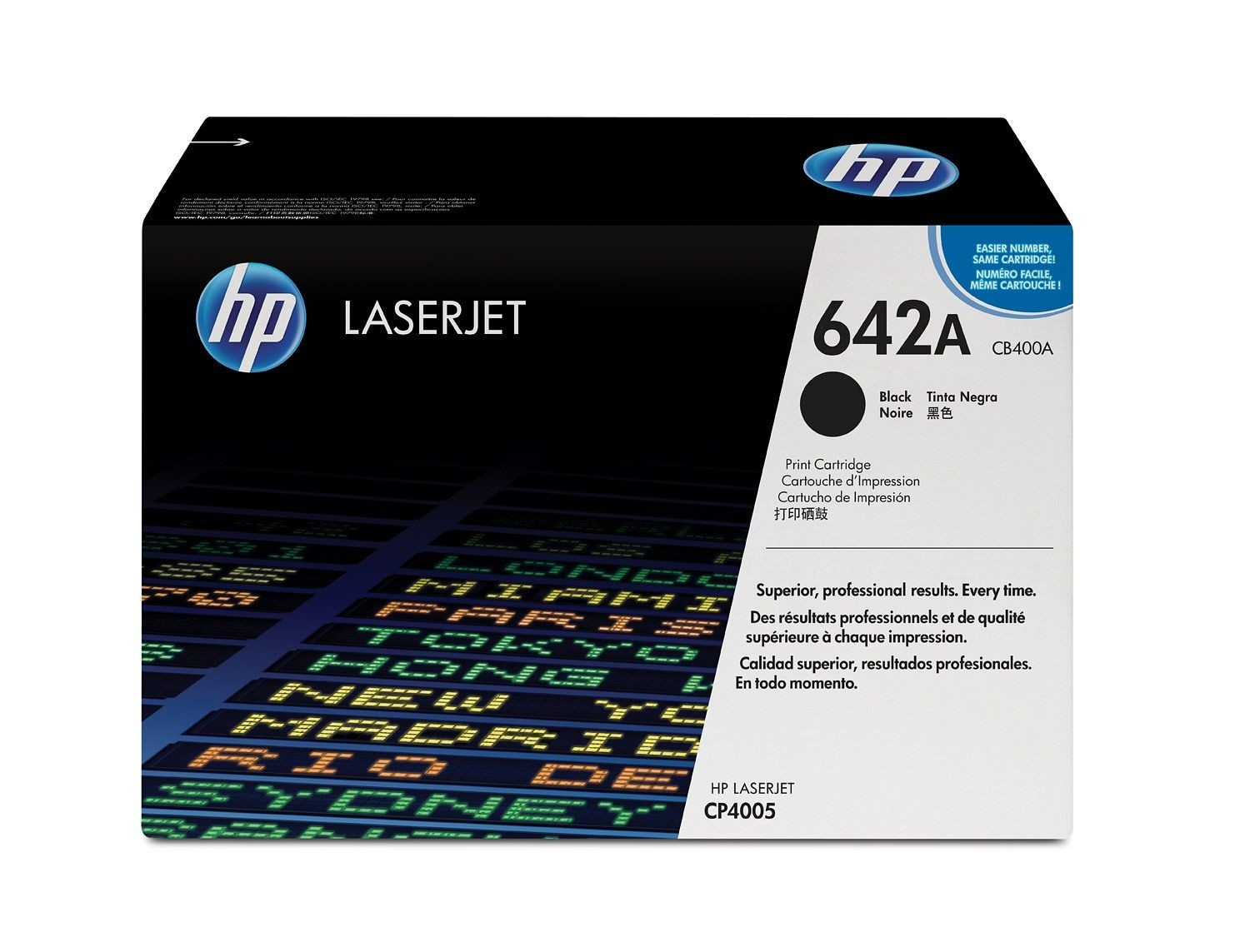 HP toner black (7500str, CLJ CP4005)