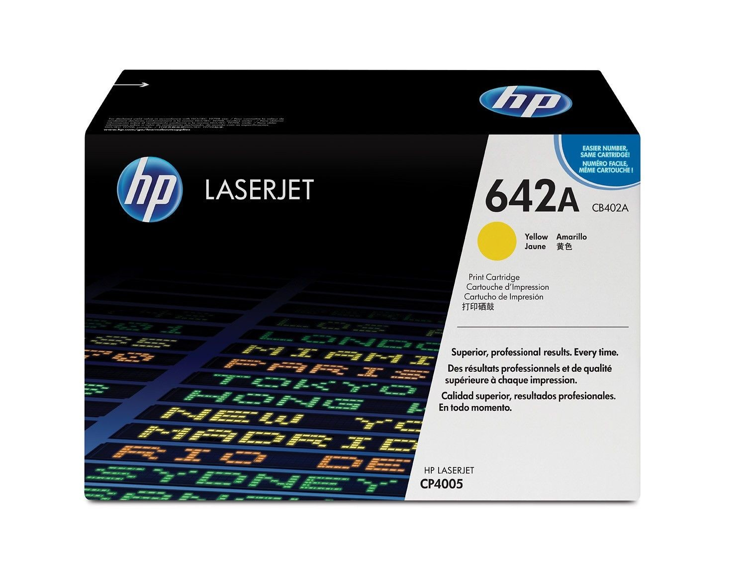 HP toner yellow (7500str, CLJ CP4005)