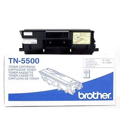 Brother Toner TN5500 black | 12 000str | HL 7050 / 7050N
