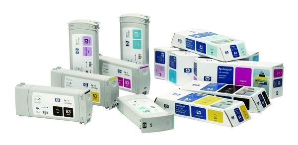 HP 83 Lt Cyan UV (680 ml, designjet 5x00/5x00ps)