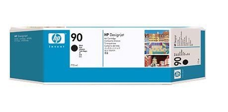 HP 90 Black 3-pack Ink Cartridges (775 ml, designjet 4000/4500/mfp)