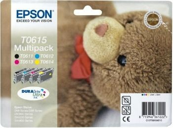 Epson DURABrite Ultra Multipack (Stylus D68 Photo/88, DX38x0/4200/48x0)