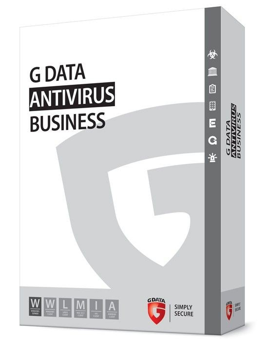 G DATA AntiVirus Business BOX 5PC 1 ROK