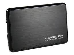 LC-Power OBUDOWA 2,5' LC-25BUB3 USB 3.0 SATA-600 CZARNA