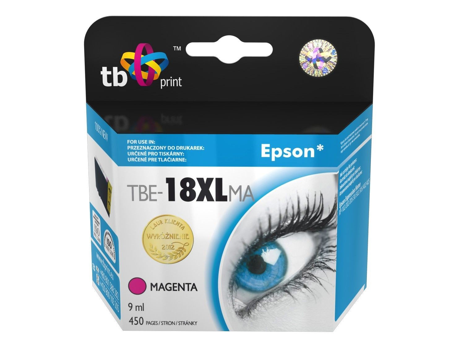 TB Print Tusz do Epson XP 302 TBE-18XLMA MA