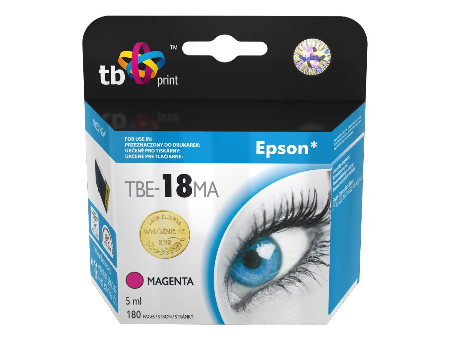 TB Print Tusz do Epson XP 302 TBE-18MA MA