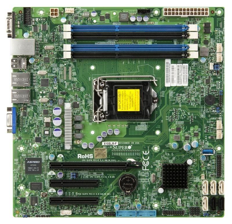 Supermicro Płyta serwerowa X10SLM-F box MBD-X10SLM-F-O