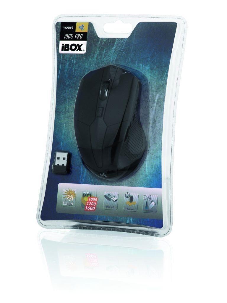 I-BOX MYSZ I-BOX i005 PRO LASEROWA BEZPRZEWODOWA