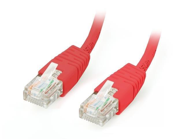 Equip patchcord RJ45, kat. 6, UTP, 2m, czerwony