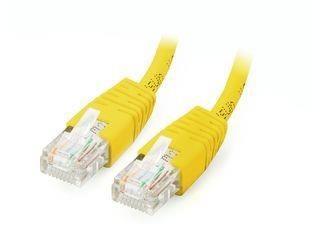 Equip patchcord RJ45, kat. 5e, UTP, 1m, żółty