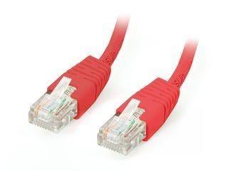 Equip patchcord RJ45, kat. 5e, UTP, 2m, czerwony