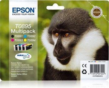 Epson Tusz Multipack T0895 CMYK Stylus S20/SXx05/