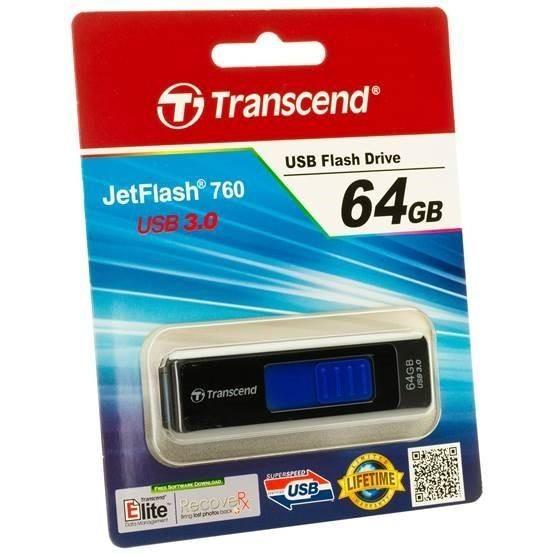 Transcend pamięć USB Jetflash 760 64GB USB 3.0