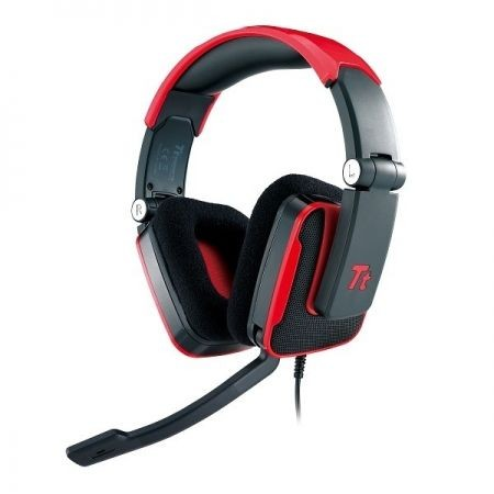 Thermaltake Tt eSPORTS Słuchawki dla graczy - Shock Blasting Red
