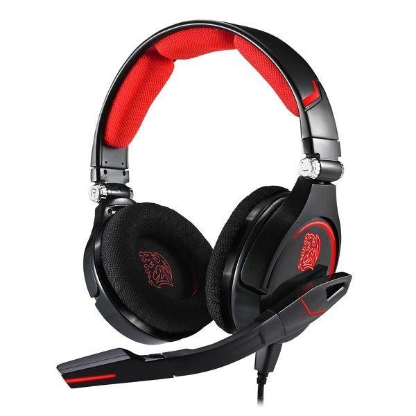 Thermaltake Tt eSPORTS Słuchawki dla graczy - Cronos Black Neodymium Magnet