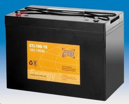 CyberPower Baterie - CTM CTL 100-12 (12V/100Ah - M6)