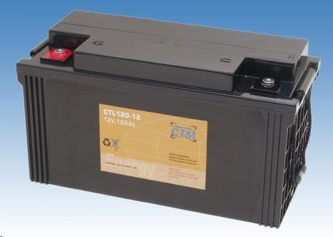 CyberPower Baterie - CTM CTL 120-12 (12V/120Ah - M6)