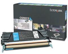 Lexmark toner cyan (zwrotny, 1500str, C520n / C530dn)