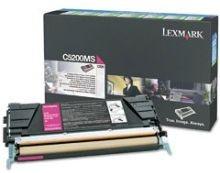 Lexmark toner magenta (zwrotny, 1500str, C520n / C530dn)
