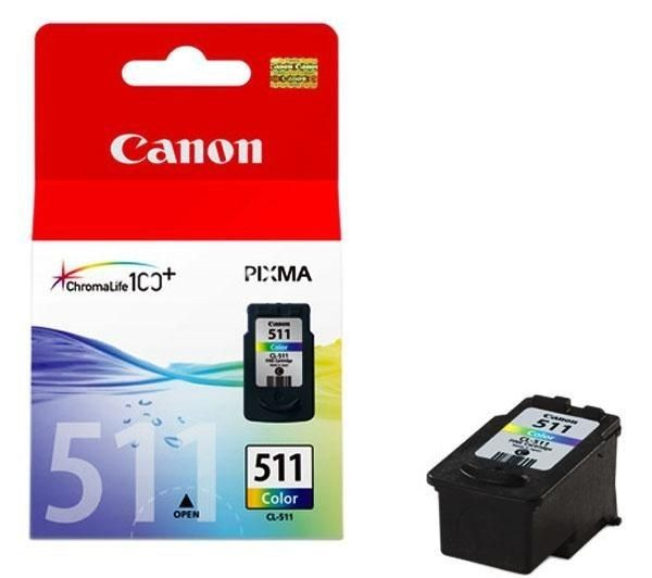 Canon Tusz CL511 color BLISTER | MP240/MP260