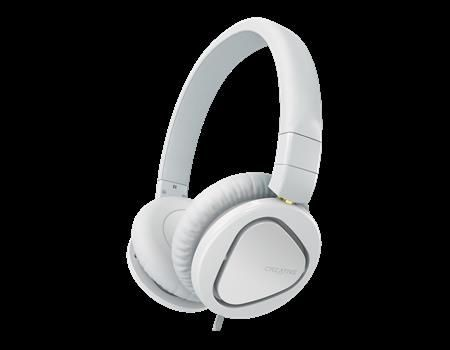 Creative Słuchawki nauszne Creative HITZ MA2600 białe