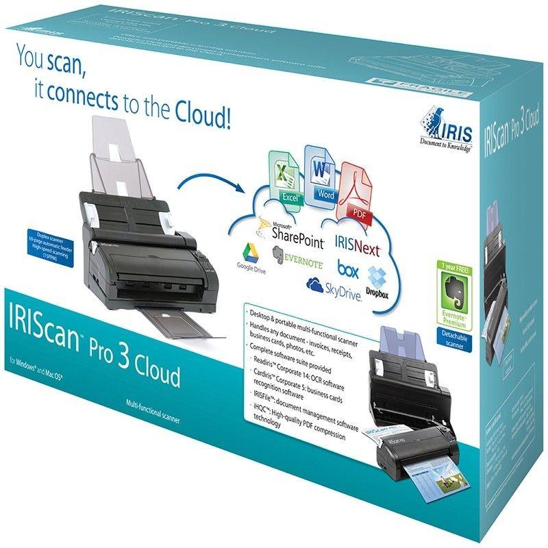 I.R.I.S. IRISCan Pro 3 Cloud