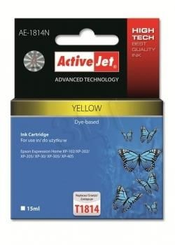 ActiveJet Tusz ActiveJet AE-1814N | Yellow | 15 ml | Epson T1814