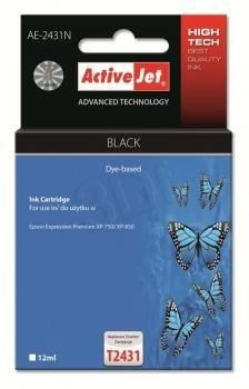 ActiveJet Tusz ActiveJet AE-2431N | Czarny | 12 ml | Epson T2431